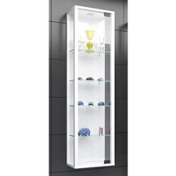 Photo of Vcm my home Stano Mini display cabinet white 4 shelves