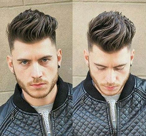 Good Hairstyles For Men Unique Image Of Good Hairstyles For Men With Wavy Quiff And Buzzed Nape