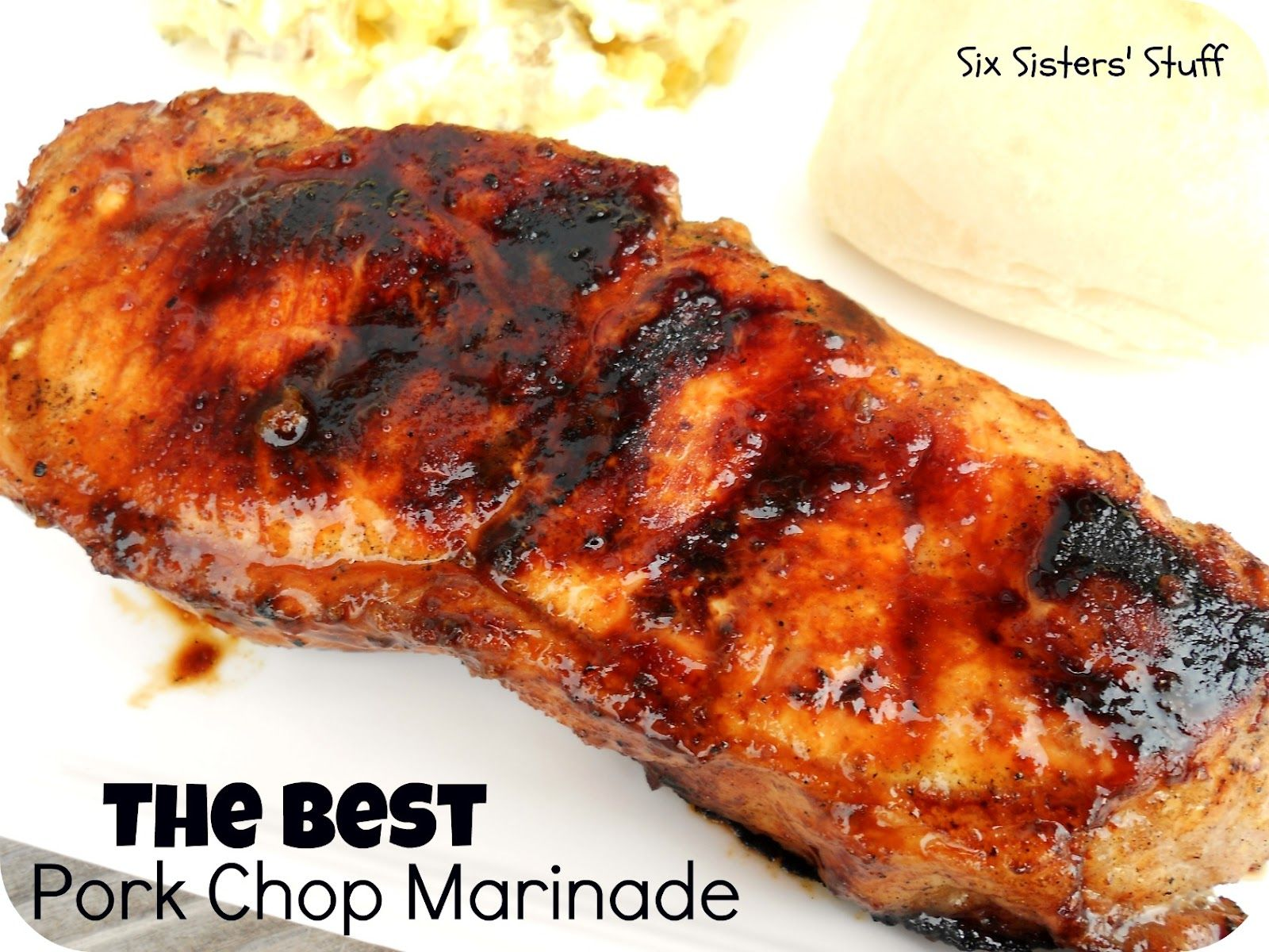 AMAZING Pork Chop Marinade
