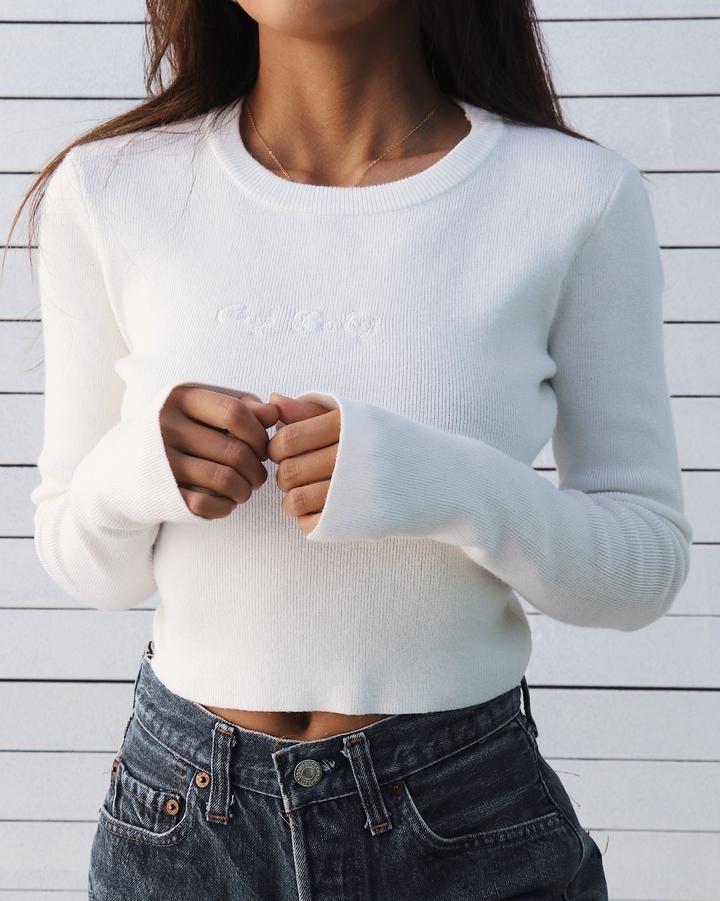 Signature Knit #trendyspringoutfits