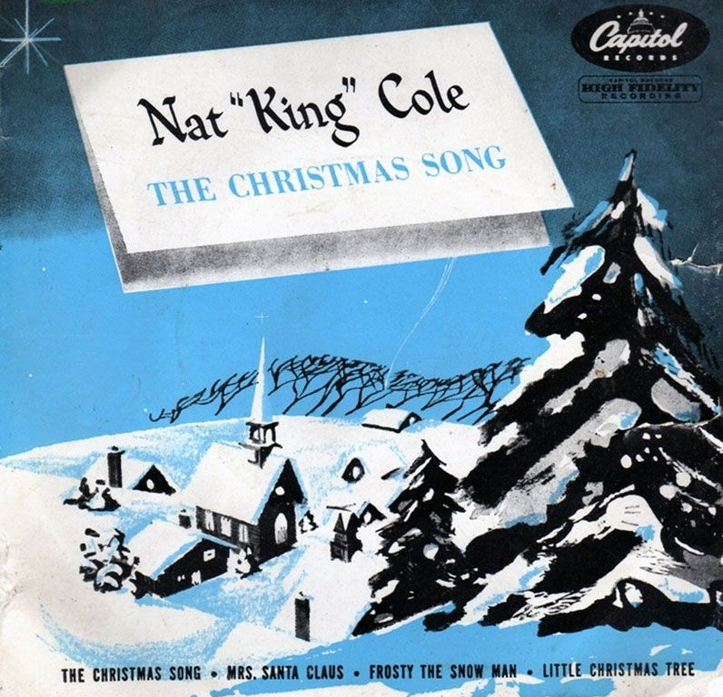 Nat King Cole - The Christmas Song (1956) | Beloved Christmas Albums ...