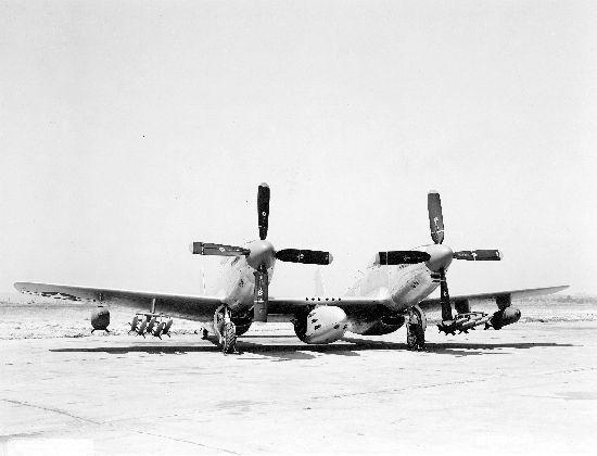 North American : XP-82 : Twin Mustang | Flickr - Photo Sharing!