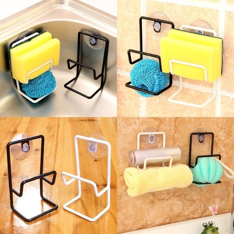 Spülorganizer Küche Regal Saugnapf Handtuchhalter Schwammhalter - küche bei ebay