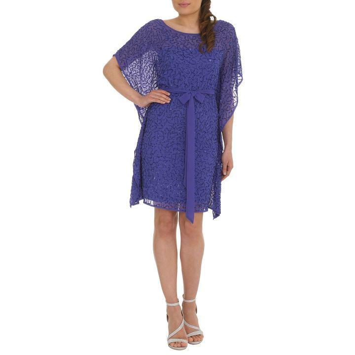 Purple beaded kaftan dress | debenhams | Pinterest