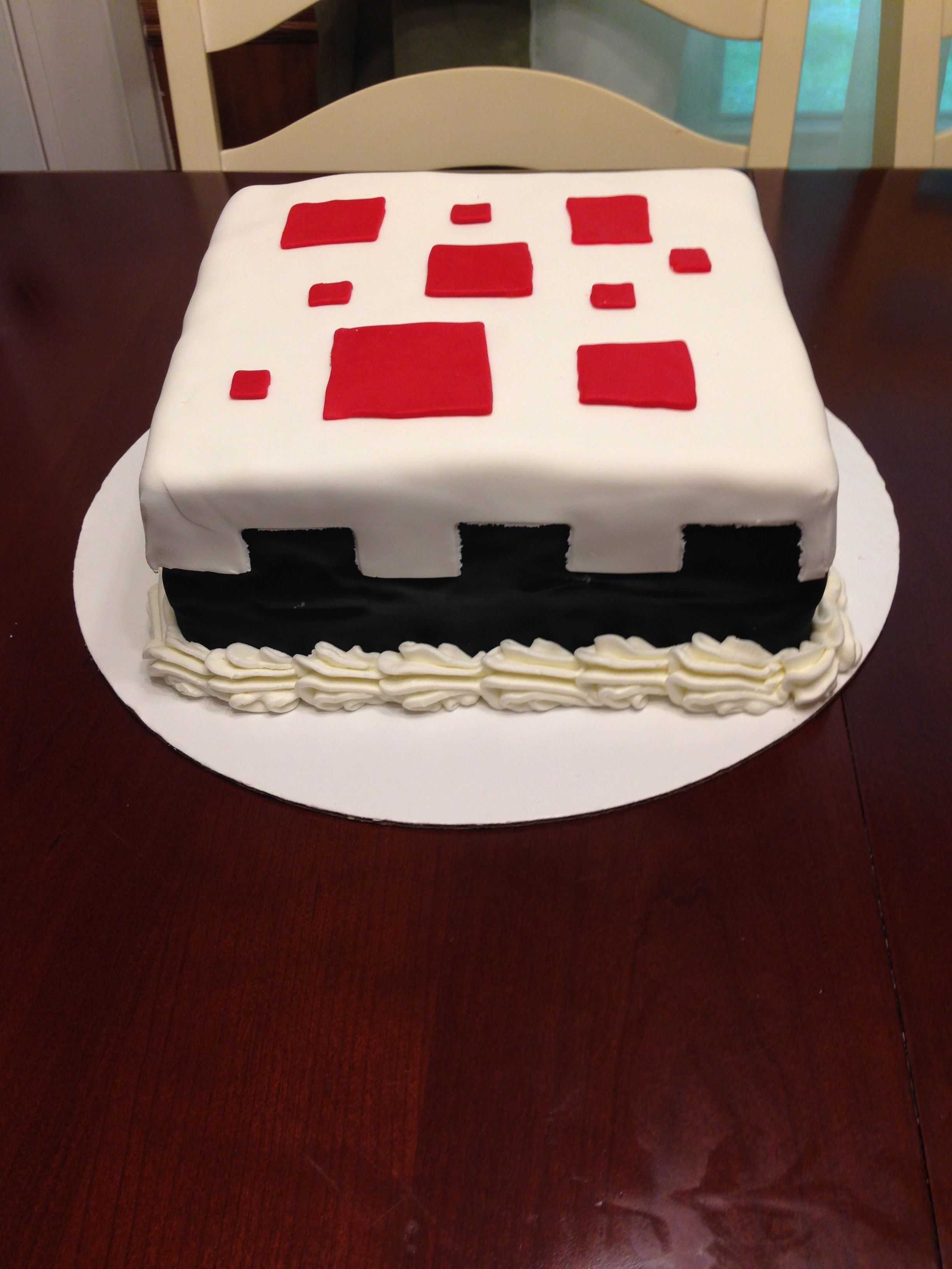 Minecraft Cake Decorations Uk : Minecraft cake cake Cakes Pinterest Kid, Cake make ...