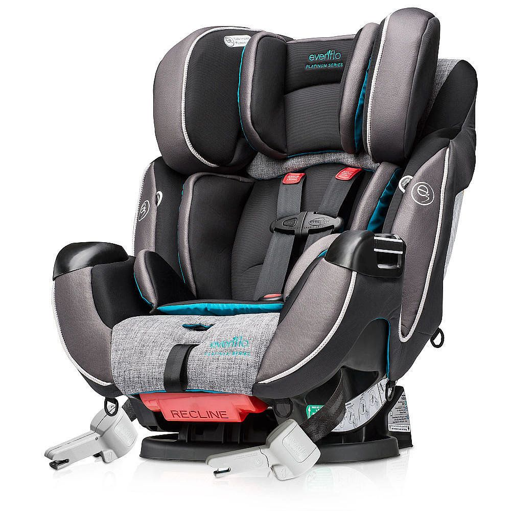 Evenflo Platinum Symphony DLX AllinOne Car Seat Best