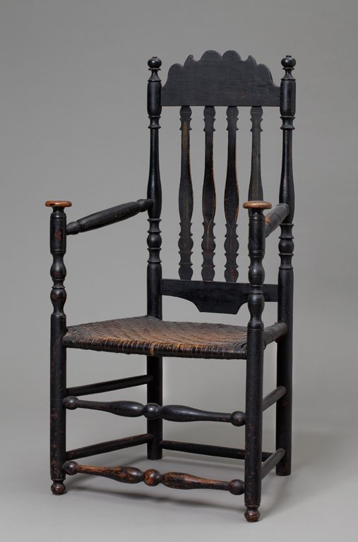 Coastal Connecticut Banister Back Great Chair 1750 90