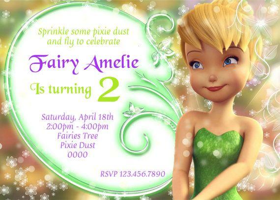 Tinkerbell Invitation Hadi Palmex Co
