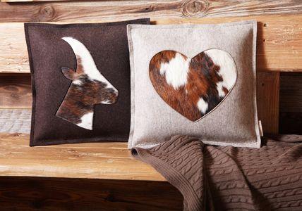 Felt U0026 Fur Pillows / Tischwerk