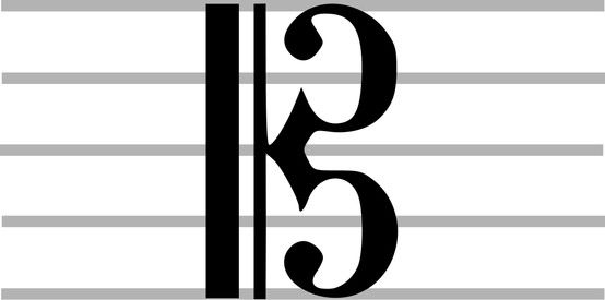 Pianosoftware C Clef Alto Clef And Tenor Clef This Clef Points