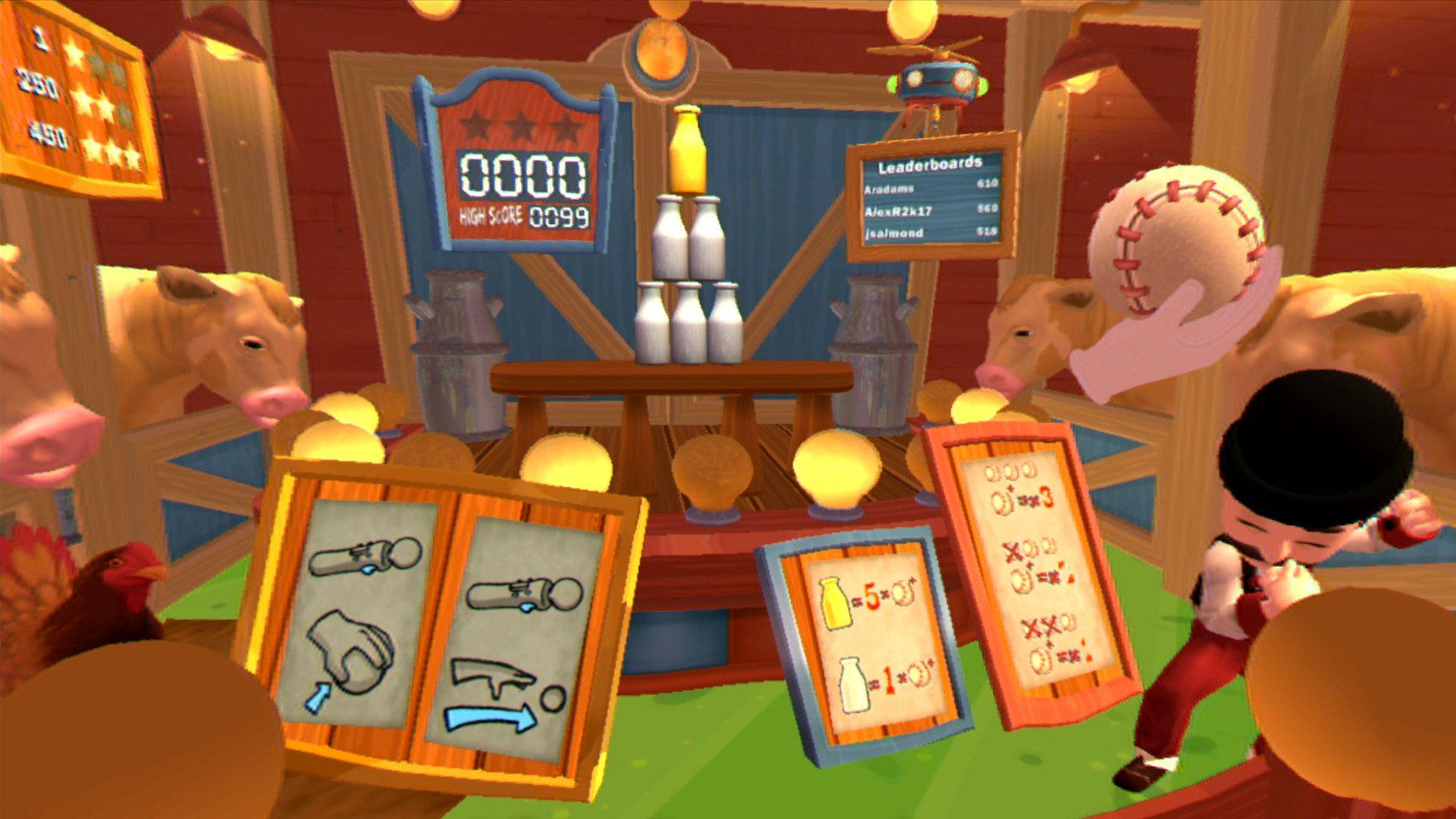 Carnival Games® VR Game PS4 PlayStation Carnival