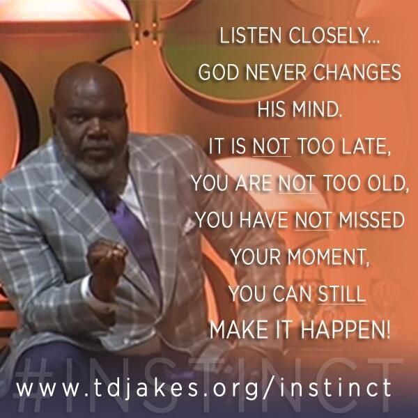 Td Jakes Quotes On Life: Heart, Mind, Space Clear