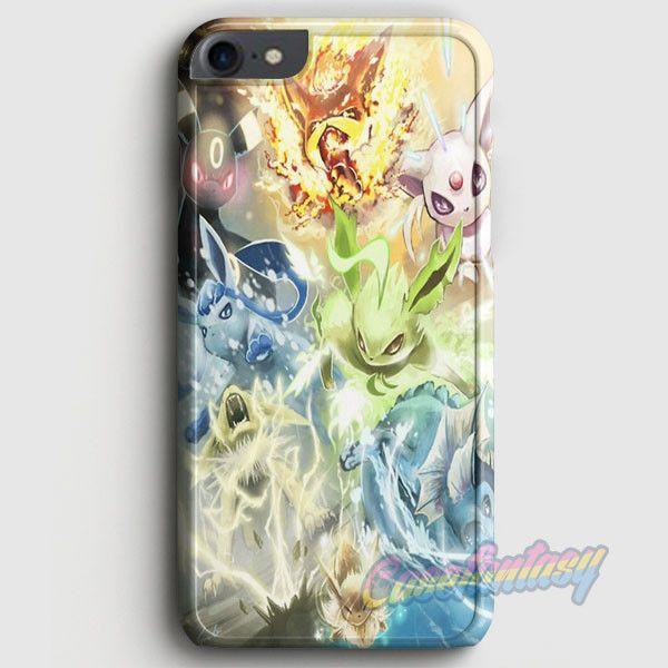 Pokemon Eevee Evolutions iPhone 7 Case | casefantasy