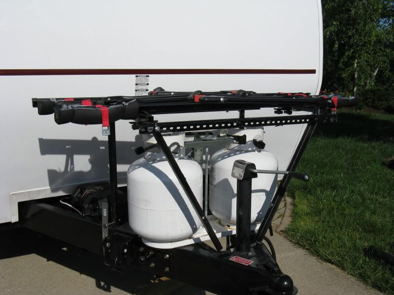 Bike rack - Forest River Forums | RV There Yet? | Bike rack