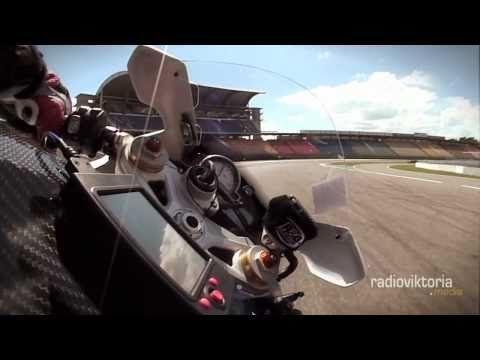 GYRO-CAM onboard Runde in Hockenheim á la Moto-GP!