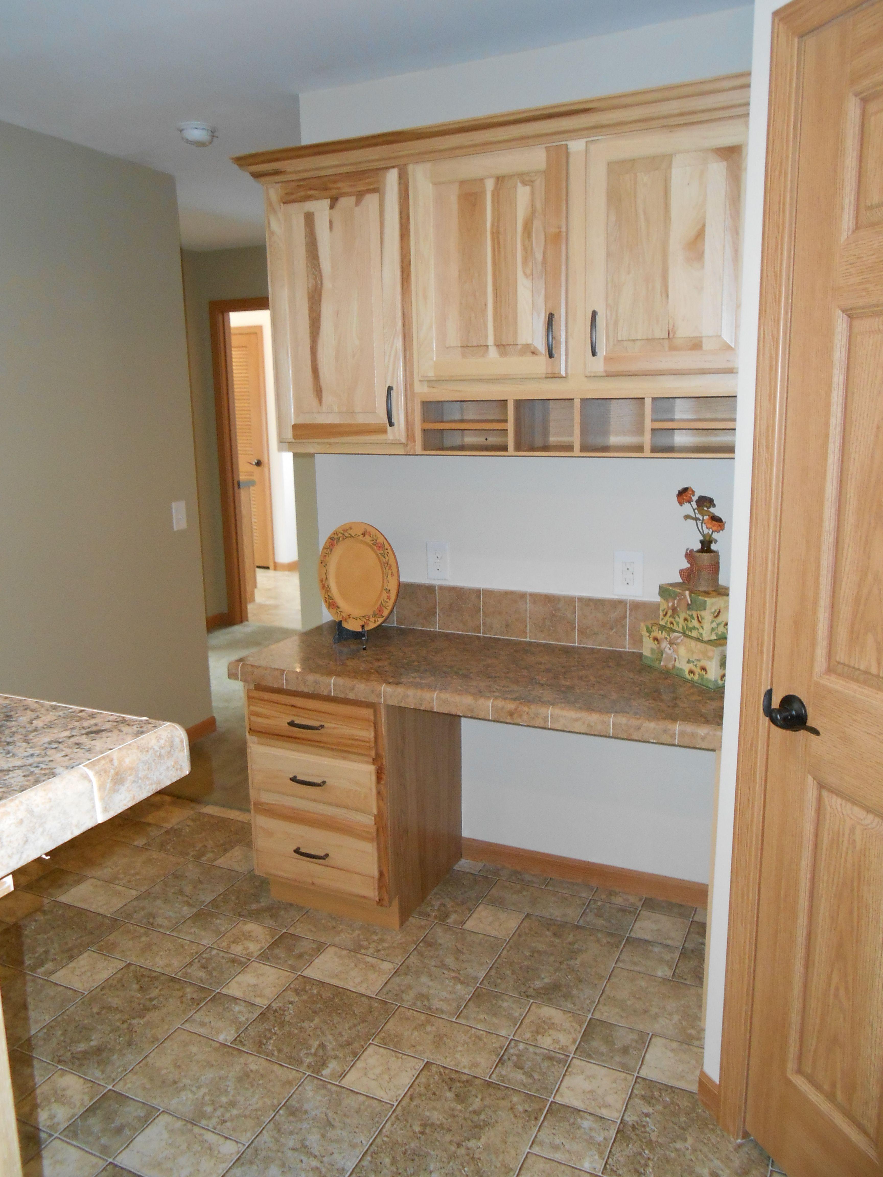 New Era Modulars Merillat Hickory Cabinets Manufactured
