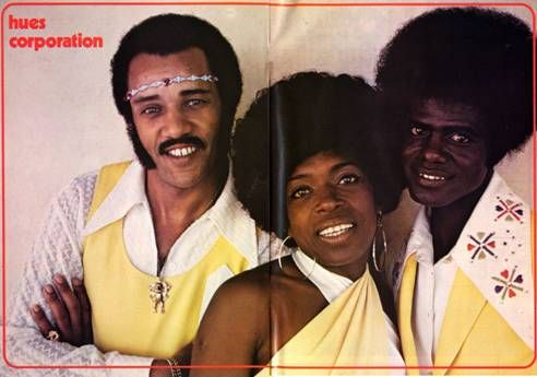 The Hues Corporation In 1974 The Band Members Were Left To Right