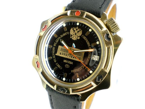 Vintage Wostok mechanical watch by WatchForLife on Etsy, $44.00