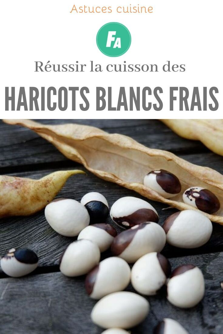 Cuisson Haricots Blancs Frais : cuisson, haricots, blancs, frais, Comment, Réussir, Cuisson, Haricots, Blancs, Frais, Frais,, Blancs,, Haricot
