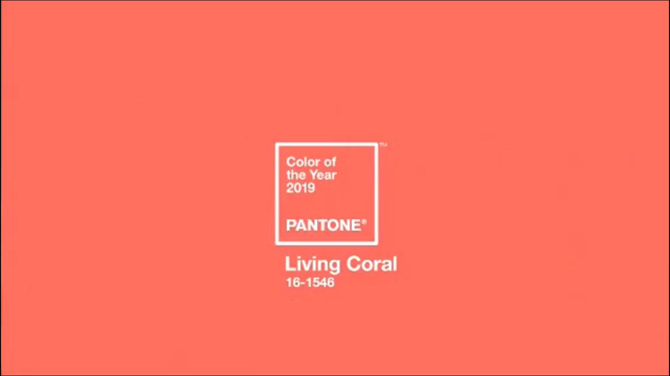 Pantone Color Of The Year 2019 Pantone Color Del Ano 2019 Pantone Color De L Any 2019 Living Coral Livingcoral Pantone Coloroftheyear Ontariofabrics Pan