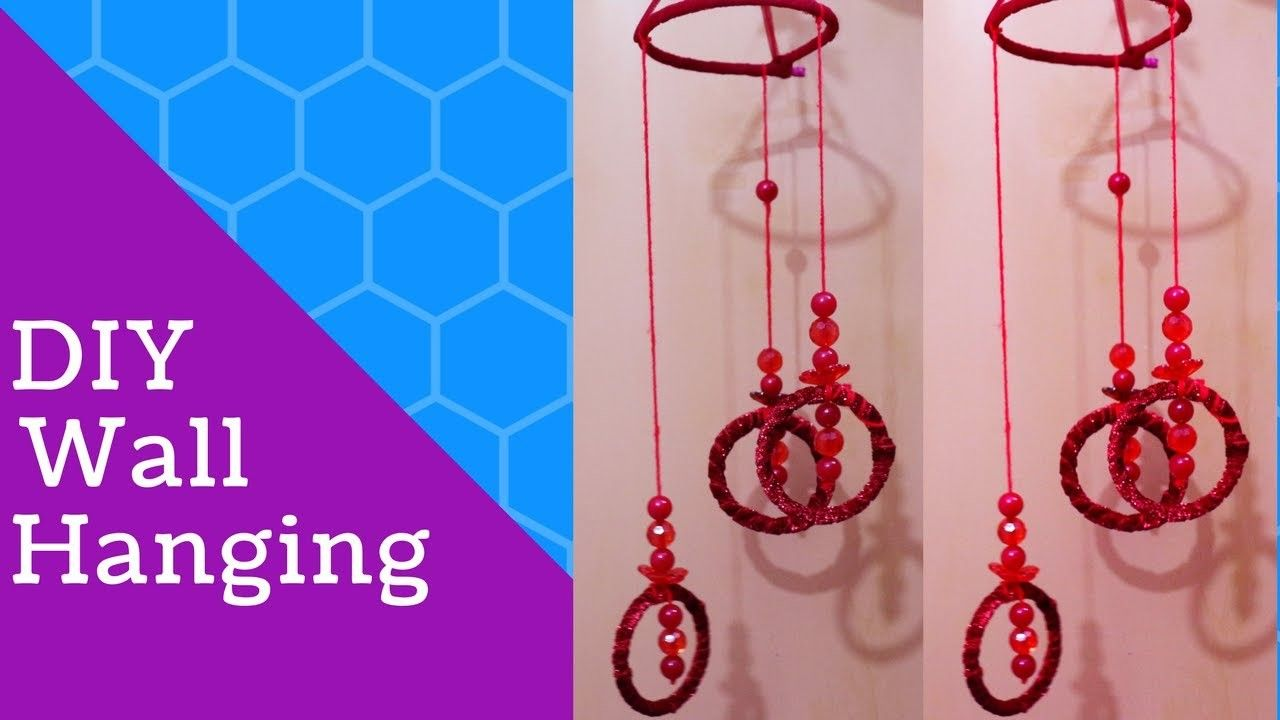 Wall Hanging With Bangles New Crafts Ideas Decorations For Living Room