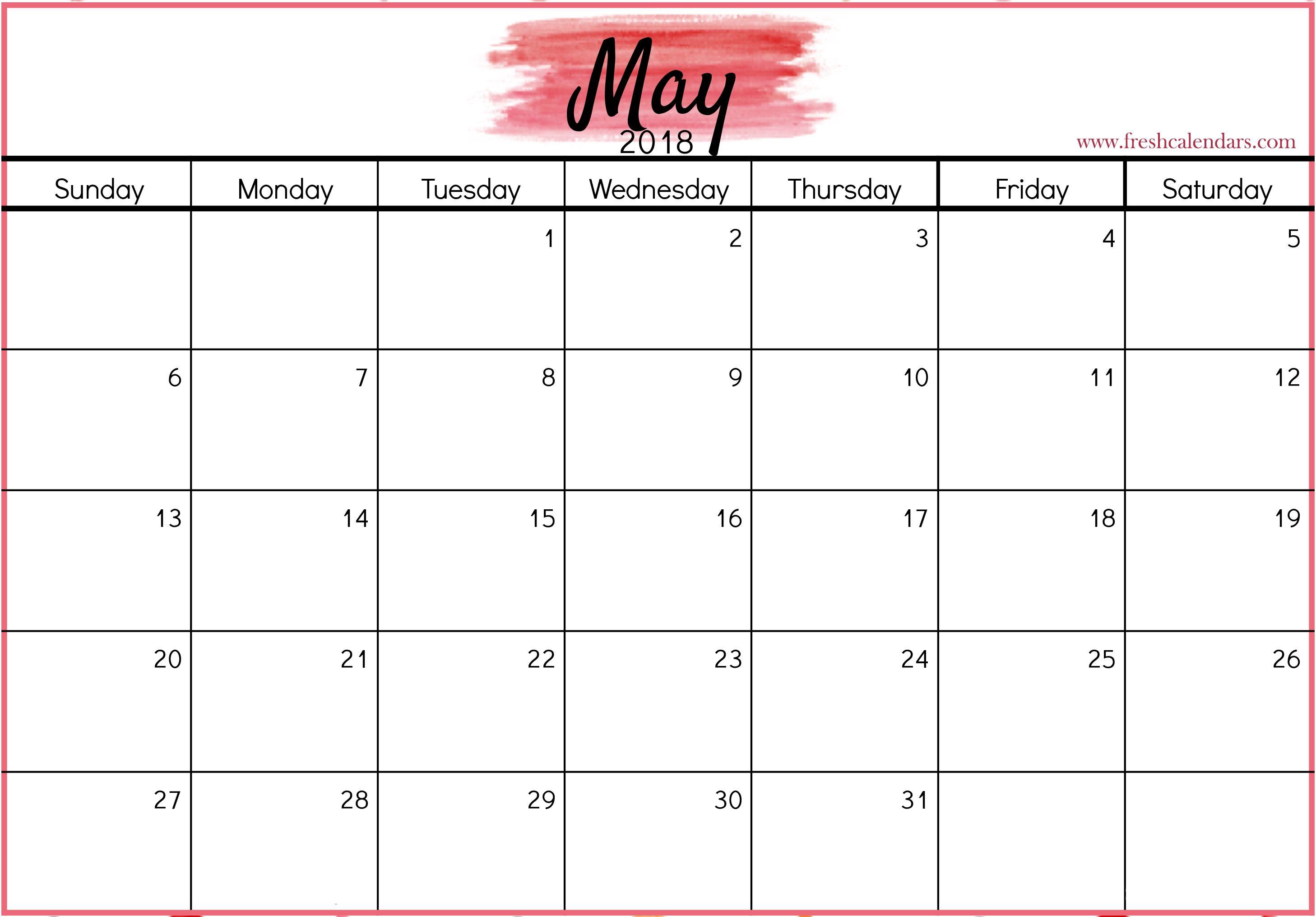 Free Printable 2020 Calendar Blank Calendar Template