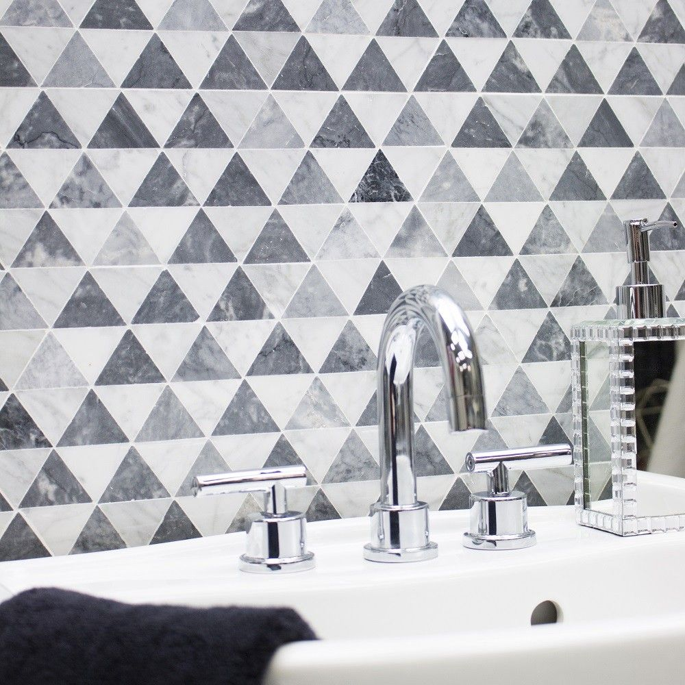 Krista Watterworth Patience Marble Tile | Marble tiles, Carrara and ...