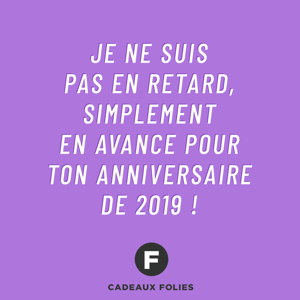 Texte Original Pour Anniversaire