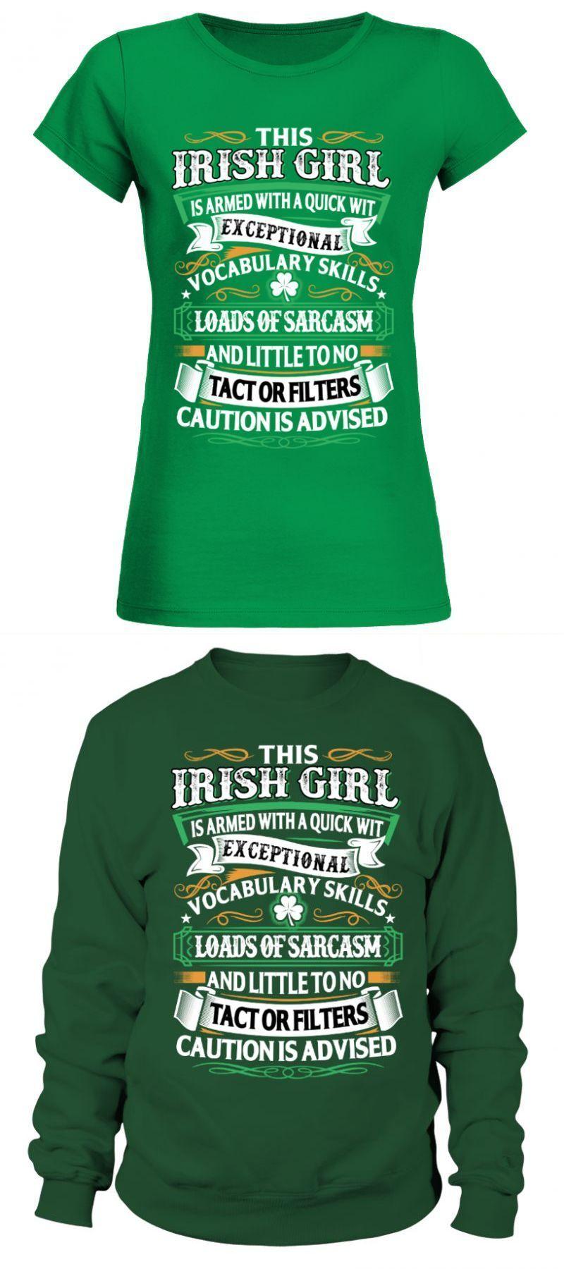 62e463ba St patrick's day t shirts irish - this irish girl st patrick's day t shirt  women's #st #patrick's #day #shirts #irish #this #girl #shirt #women's #uk  #round ...
