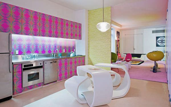 Colorful Candy Kitchen Decorations Ideas