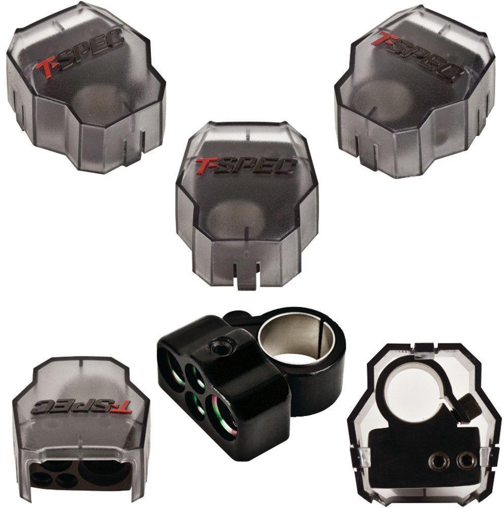 1 0 Gauge Positive Negative Battery Terminal Battery Terminal Speaker Wire Car Audio
