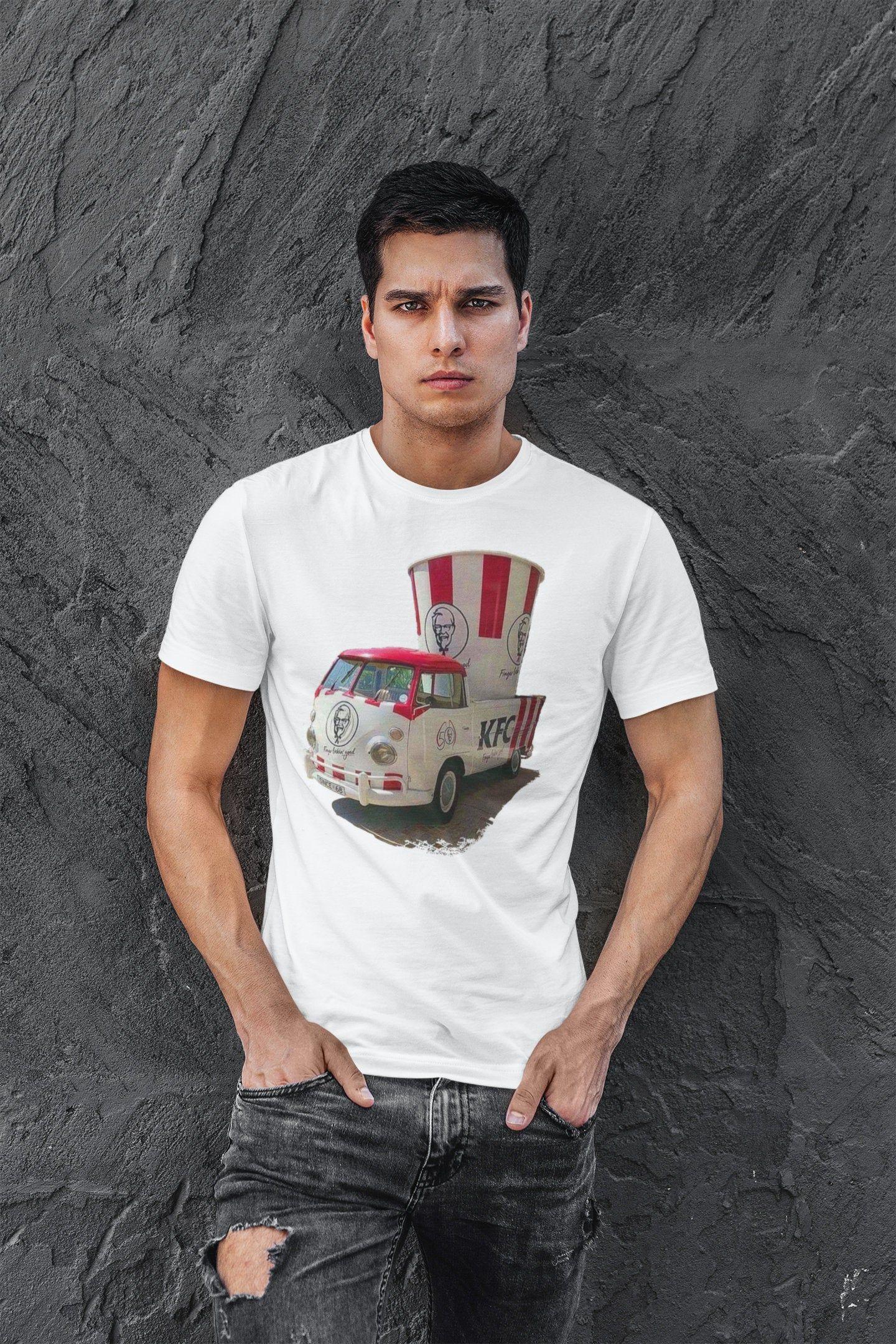 Volkswagen VW Mountain Adventure T-Shirt Large Red