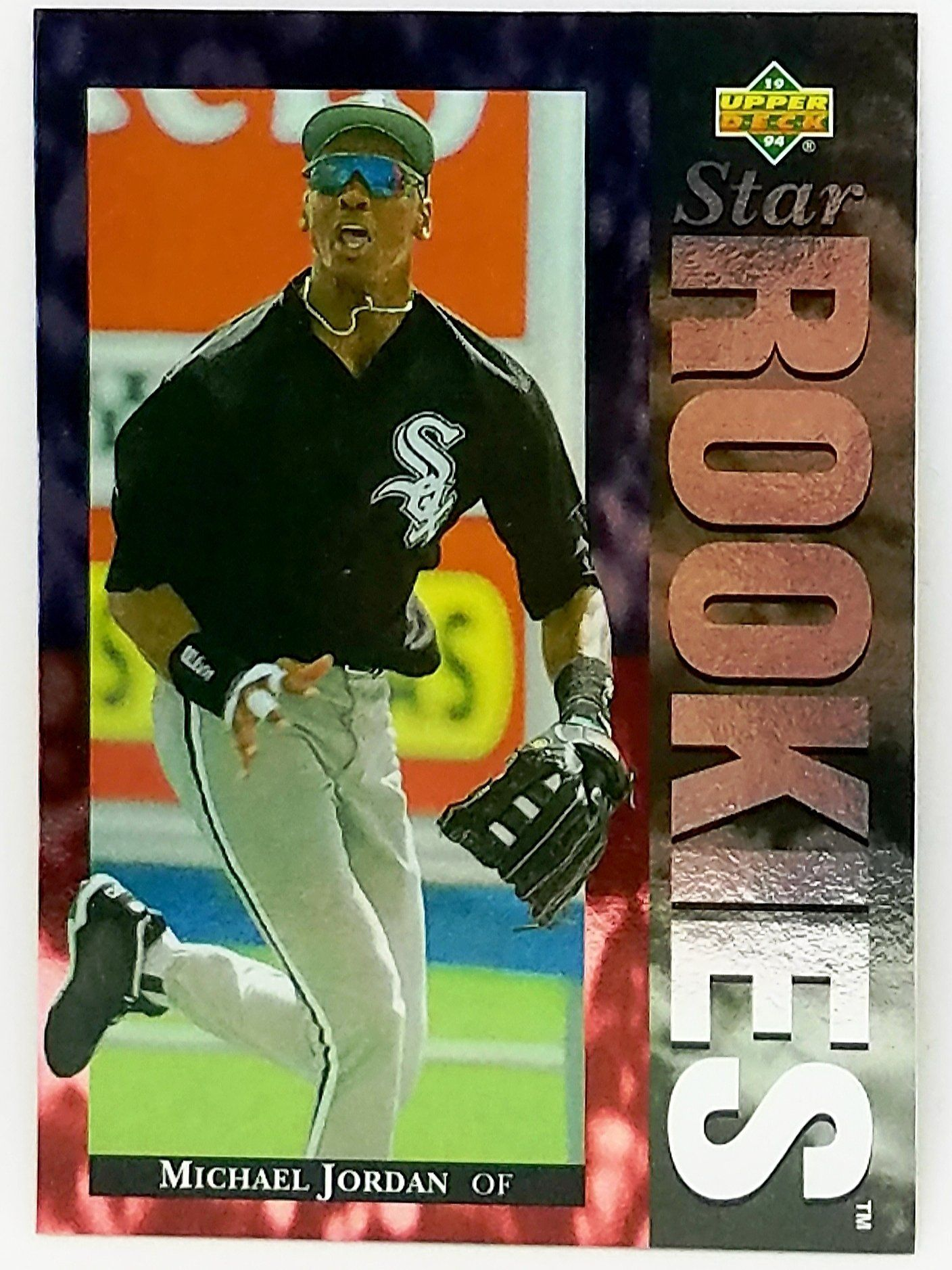 1994 Upper Deck 19 Michael Jordan Rookie Card Chicago White Sox Mlb