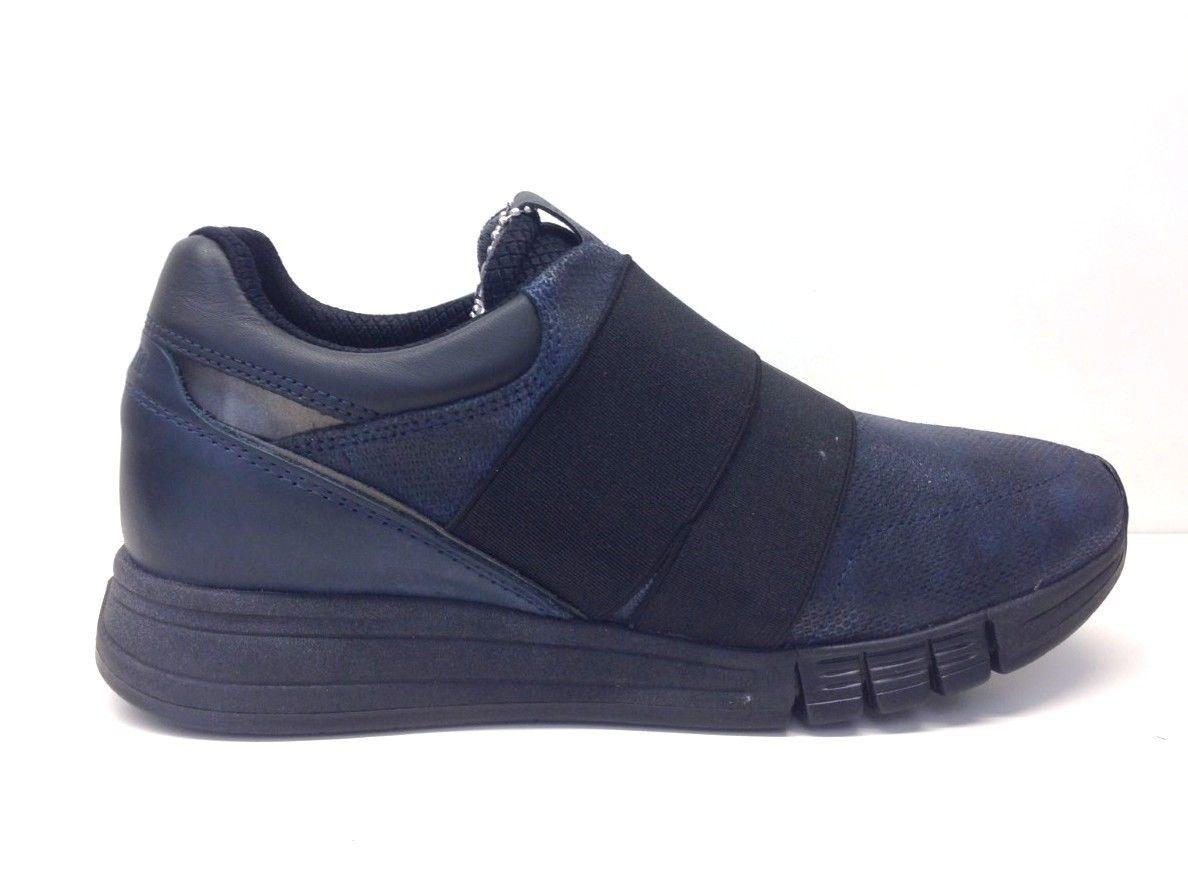 new styles 74d1d 66ae4 IMPRONTE scarpe donna sneaker slip on RIO LADY ELASTIC BLU ...