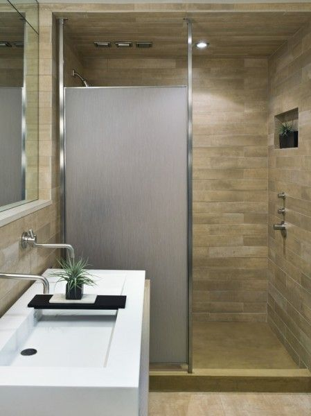 Amazing Bathroom Love The Stonework And Shades Nice Shower Door Sink A Little Too Modern Doorless Shower Amazing Bathrooms Modern Bathroom