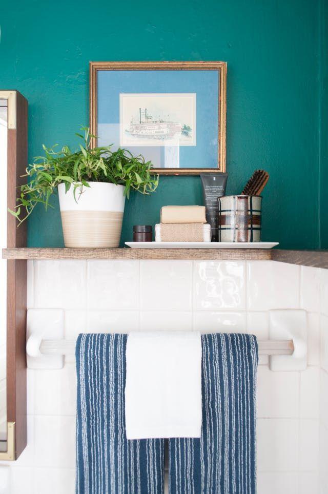 A 100% Reversible Rental Bathroom Makeover For Under $500 ...