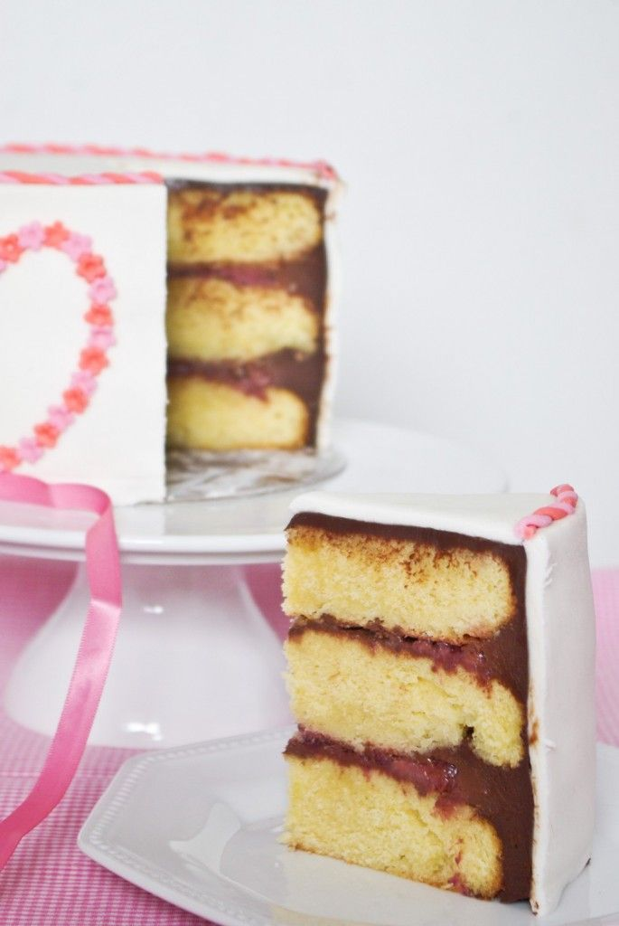Sponge Cake Recipe From Peggy Porschen