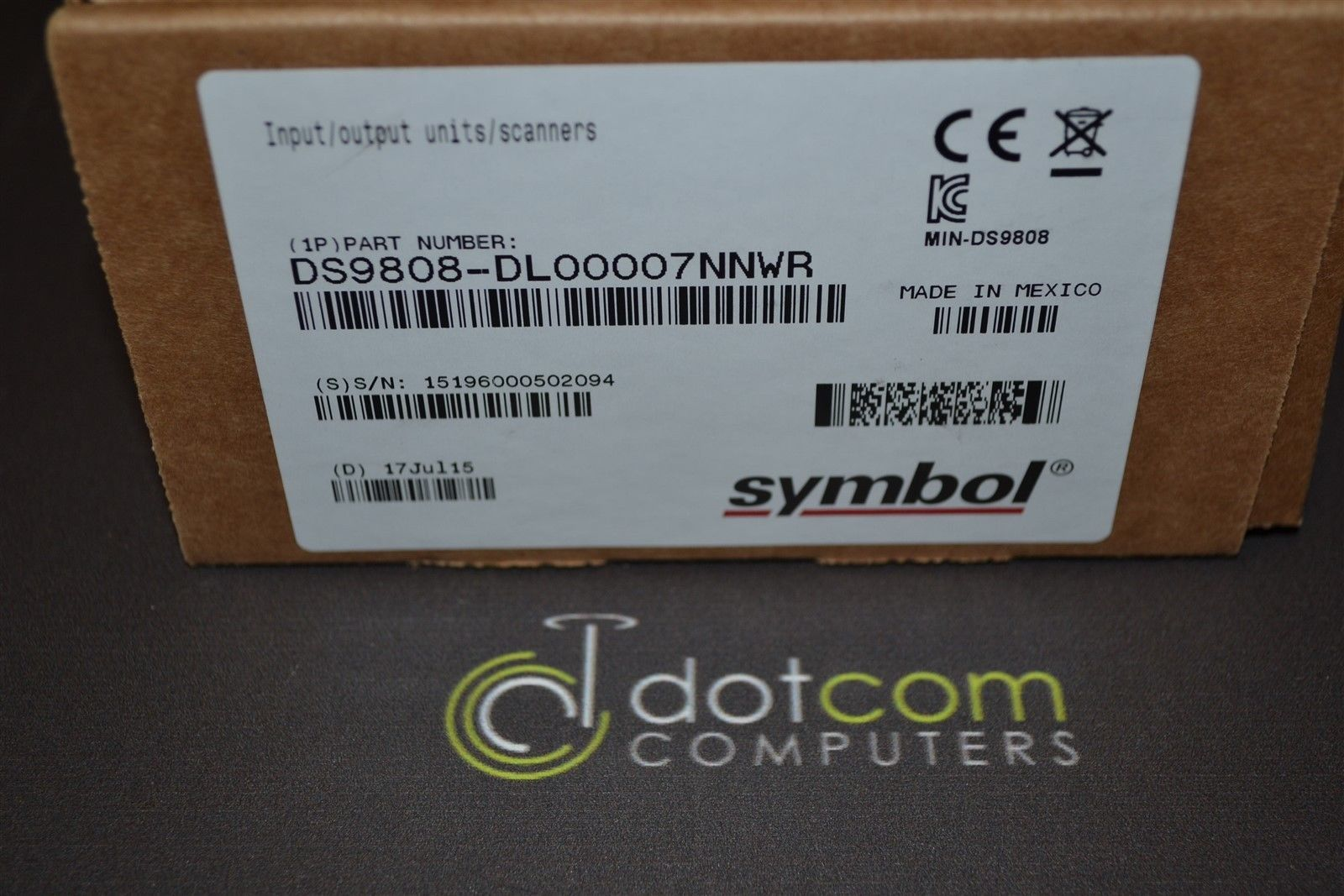 Symbol Barcode Scanner Ds9808 Sr00007nnwr New Deals Computers