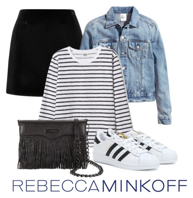 """rebeccaminkoff"" by juliasab on Polyvore featuring мода, Marc Jacobs, H&M, Rebecca Minkoff, adidas, rebeccaminkoff и contestentry"