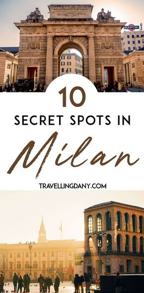 Milan is the capital of fashion in Italy and a pretty big city. Find out the best things to do, the main highlights, where to go at night and what are the most instagrammable spots with our tips from a local! | #milan #milano #Italy #Italian #Europe #Europeancountries via @travellingdany