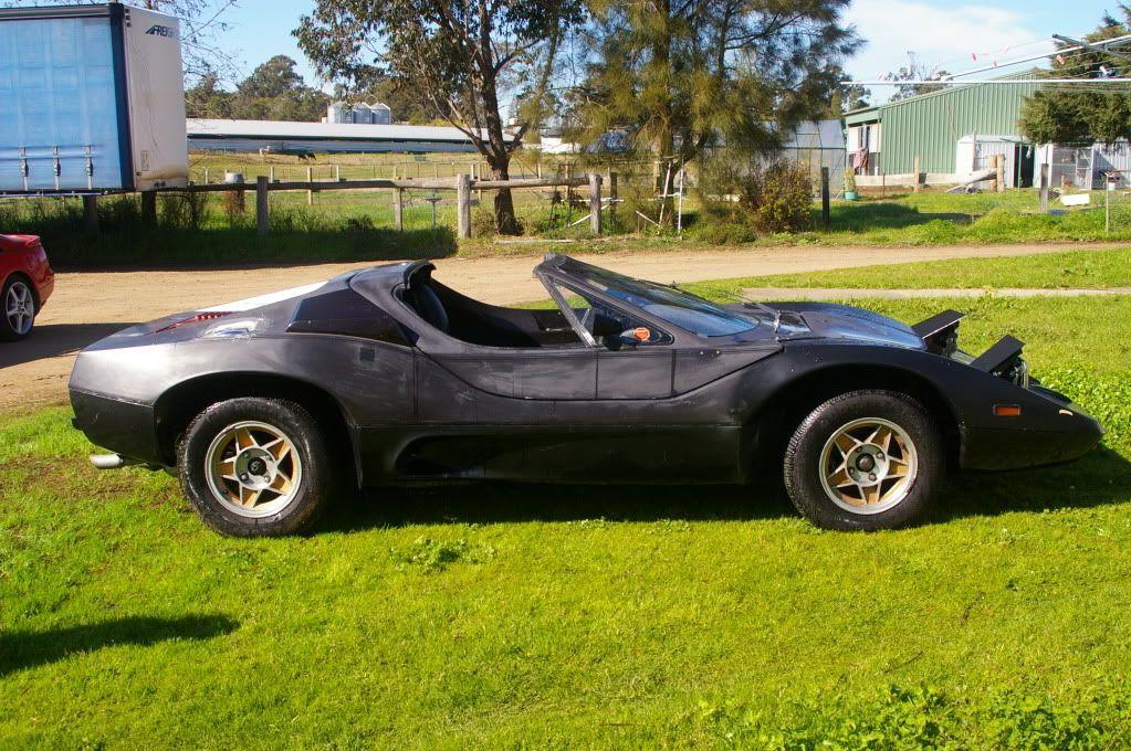 Purvis Eureka Targa - with \'pop-up\' head lights | Aussie Vehicles ...