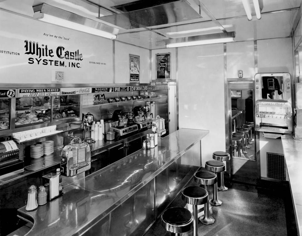 Interior View Of White Castle Number 3 Located On The
