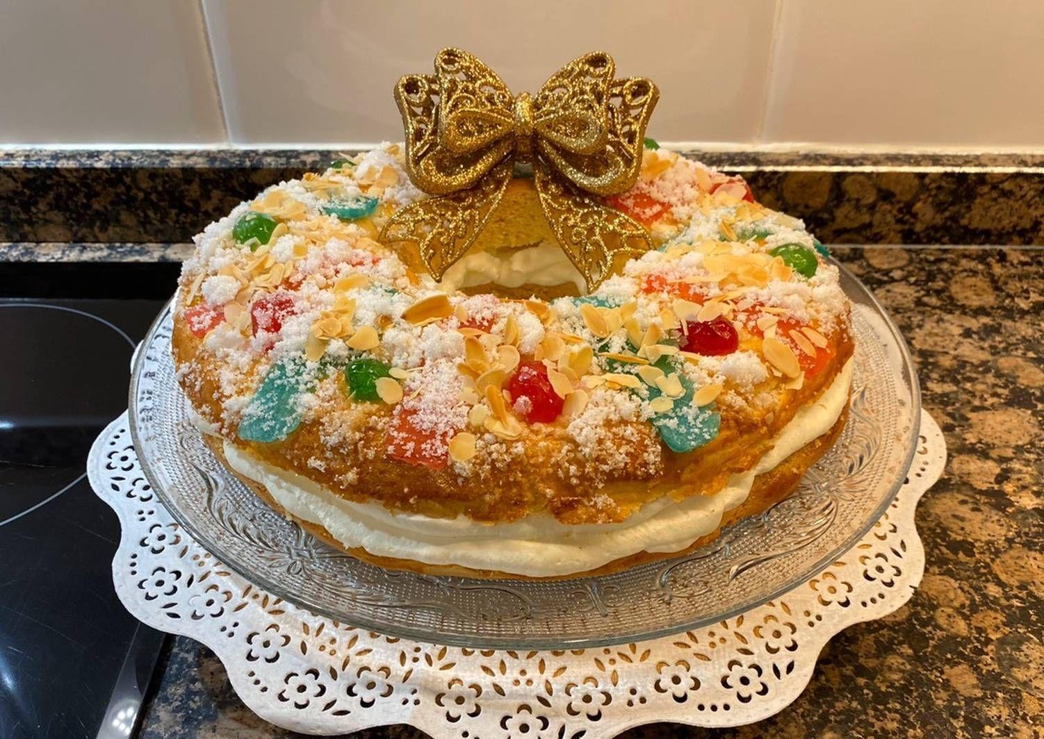 Roscón De Reyes Sin Gluten Receta De Javilowin Gmail Com Receta Recetas Con Yogur Recetas Sin Gluten