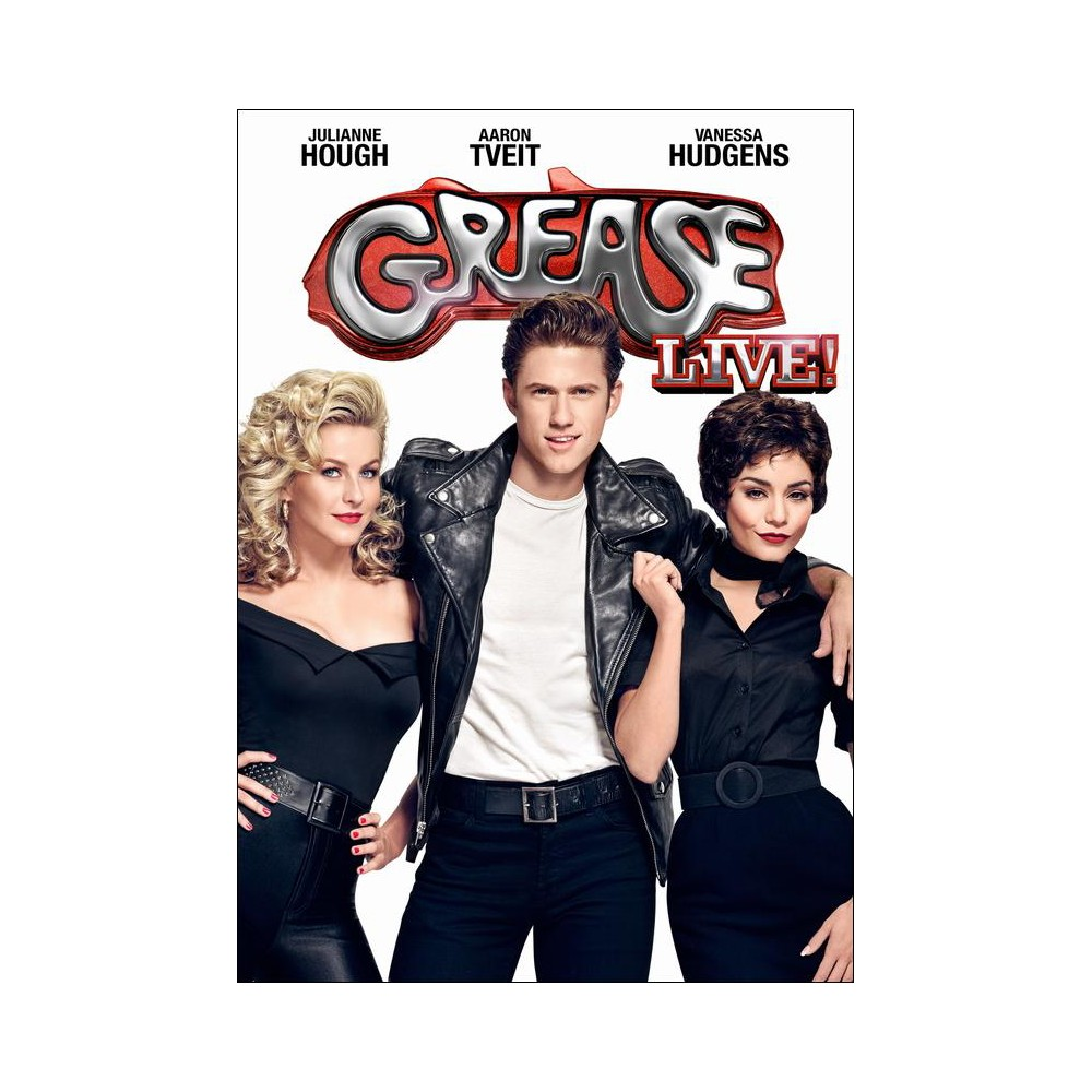 Grease Live! (dvd_video) Grease live, Grease, Actors