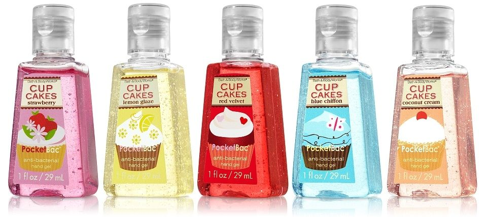 Cupcake Pocketbacs 1 50 Bath And Body Works Bath And Body
