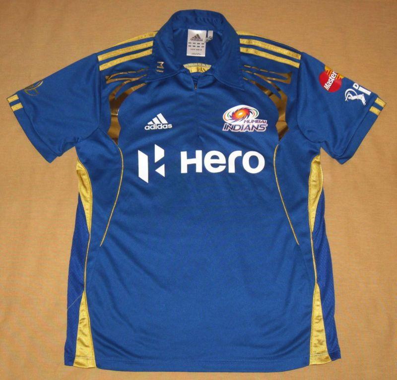 Mumbai Indians Cricket Jersey Adidas (Asian) Medium Shirt