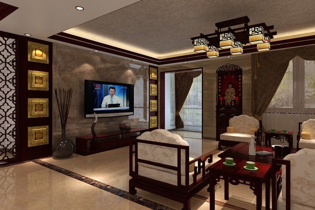 chinese interior designing tv wall - Wall Interiors Designs