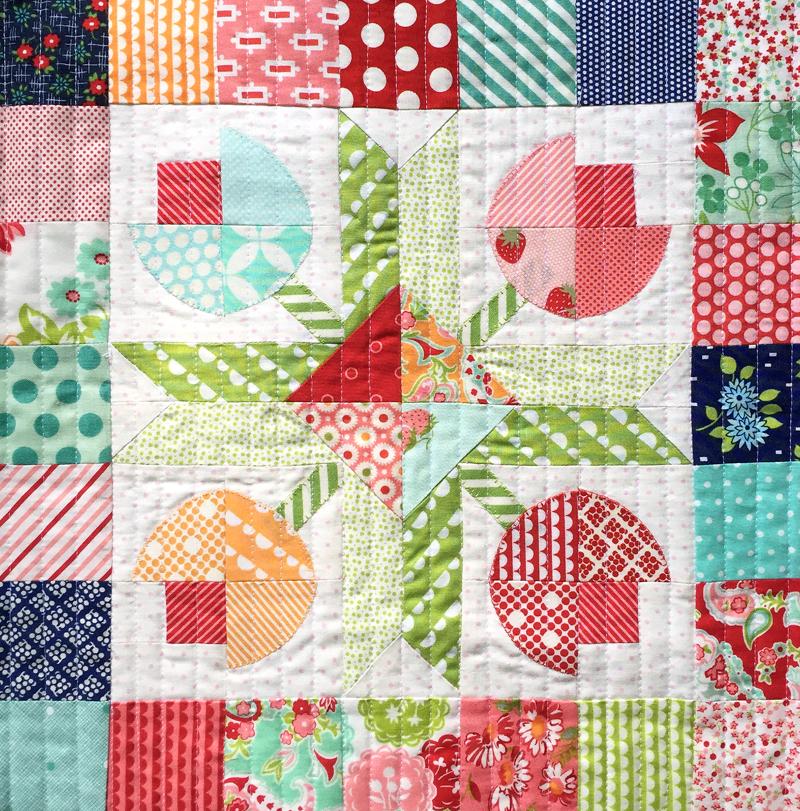 MINI Flower Patch - PAPER pattern