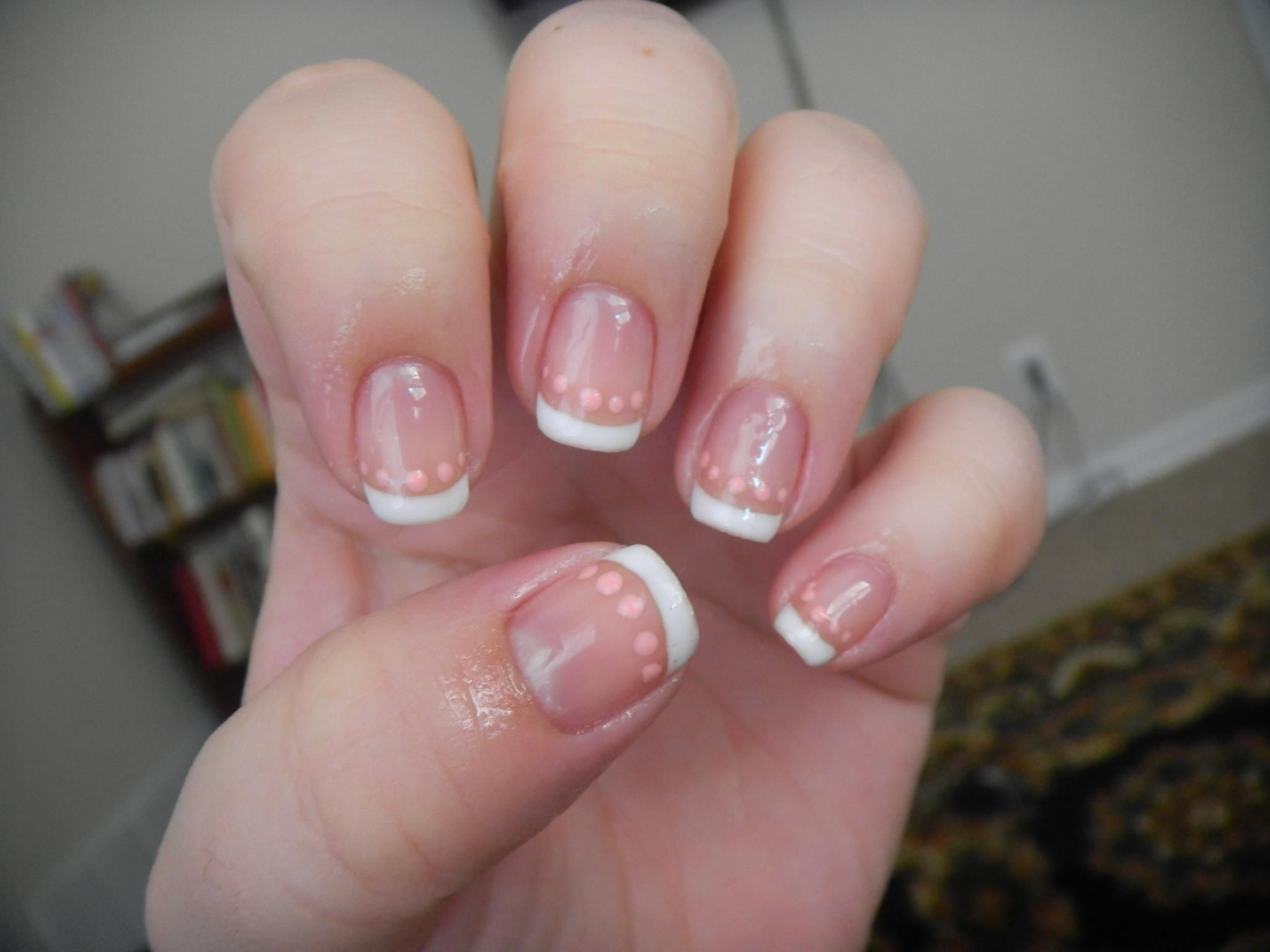 A gorgeous french gel manicure done with Couture Gel Nail Polish ...