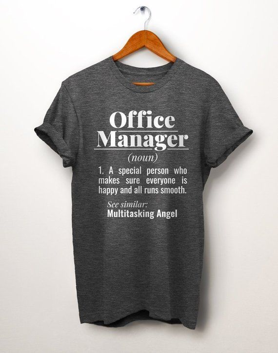 16f0686b Office Manager Shirt. Dictionary Definition Shirt. Office Shirt. Boss Shirt.  Gift For Boss. Office P